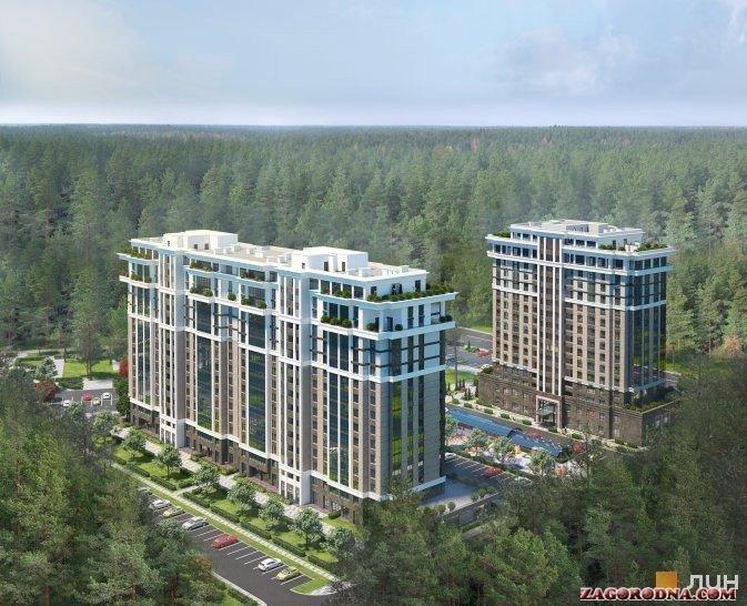 Купити квартиру в новобудові Центральний-2 ЖК