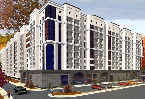 Buy an apartment in a new building Chabany Grad RC