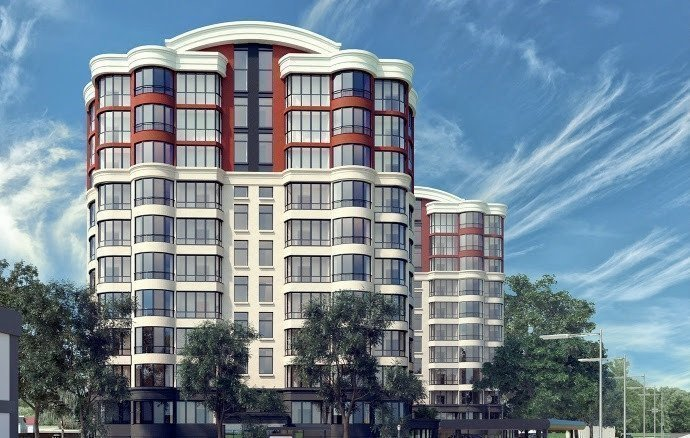 Buy an apartment in a new building Cherry Town residential comlex
