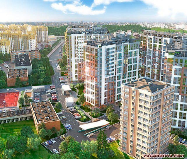 Buy an apartment in a new building Crystal Avenue residential comlex