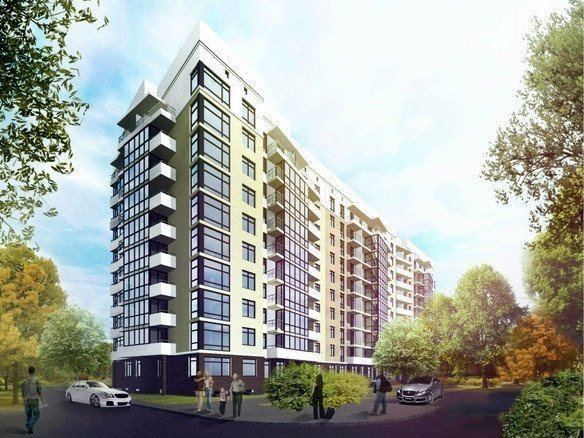 Buy an apartment in a new building Diamond residential comlex