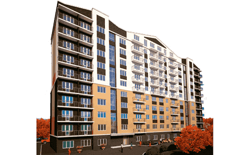 Buy an apartment in a new building Vyshneva oselya