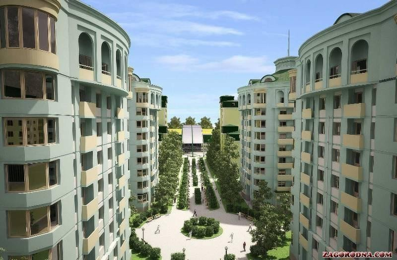 Buy an apartment in a new building Ecocity
