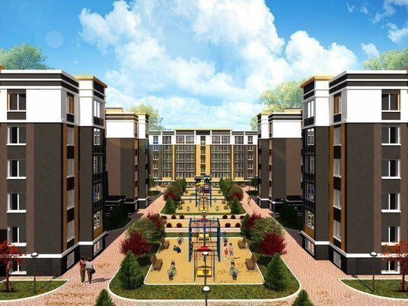 Buy an apartment in a new building Fortuna-2 residential comlex