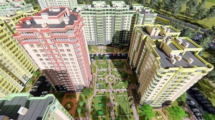 Buy an apartment in a new building Fresh City residential comlex