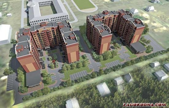 Buy an apartment in a new building New building on the Centralna in Gora