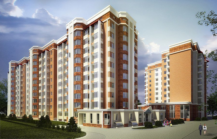 Buy an apartment in a new building Gostomelskij kvartal
