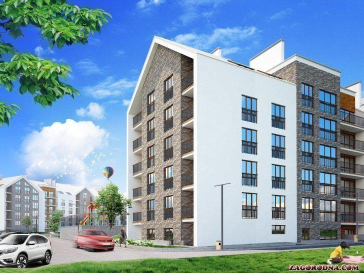 Buy an apartment in a new building «Gostomel Residence» RC