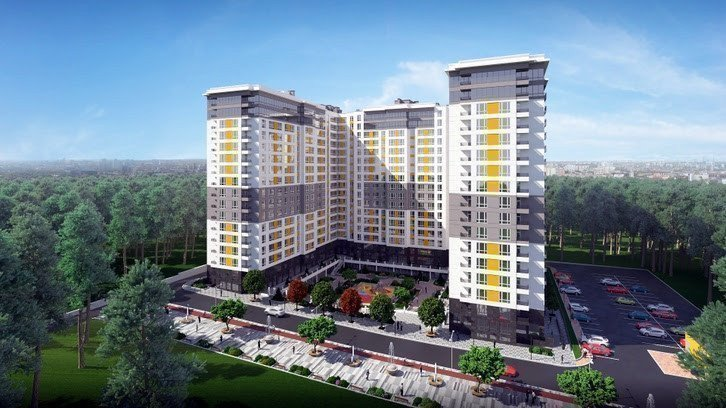 Buy an apartment in a new building Green Side residential comlex
