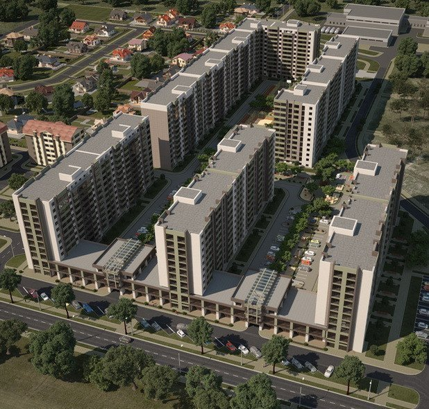 Buy an apartment in a new building Sofievskij kvartal residential comlex
