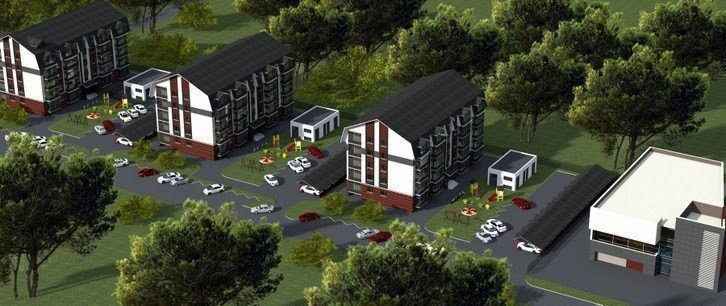 Buy an apartment in a new building Idea residential comlex