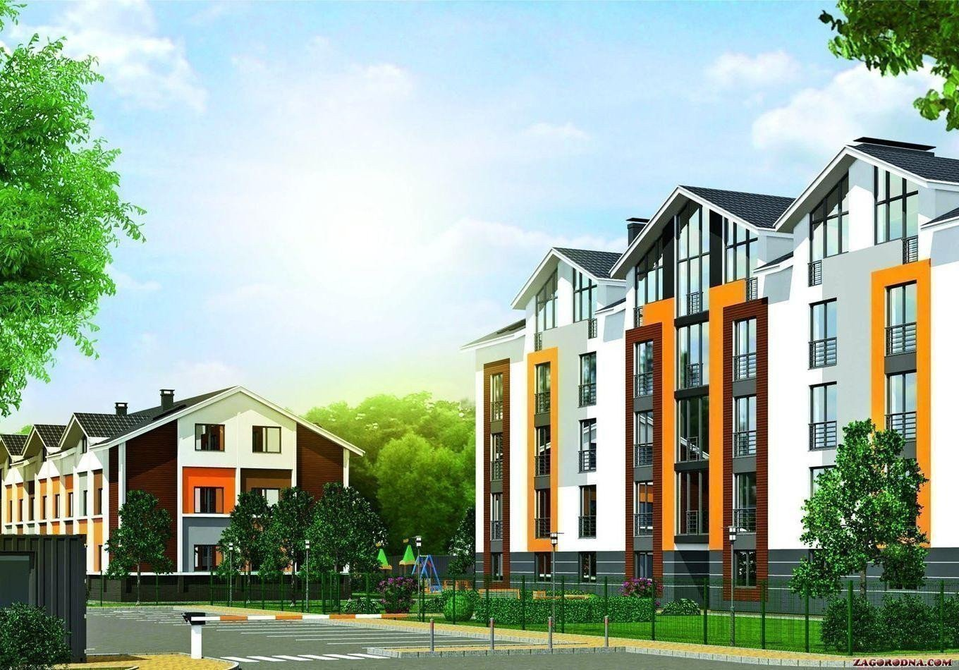 Buy an apartment in a new building Kalina Town RC
