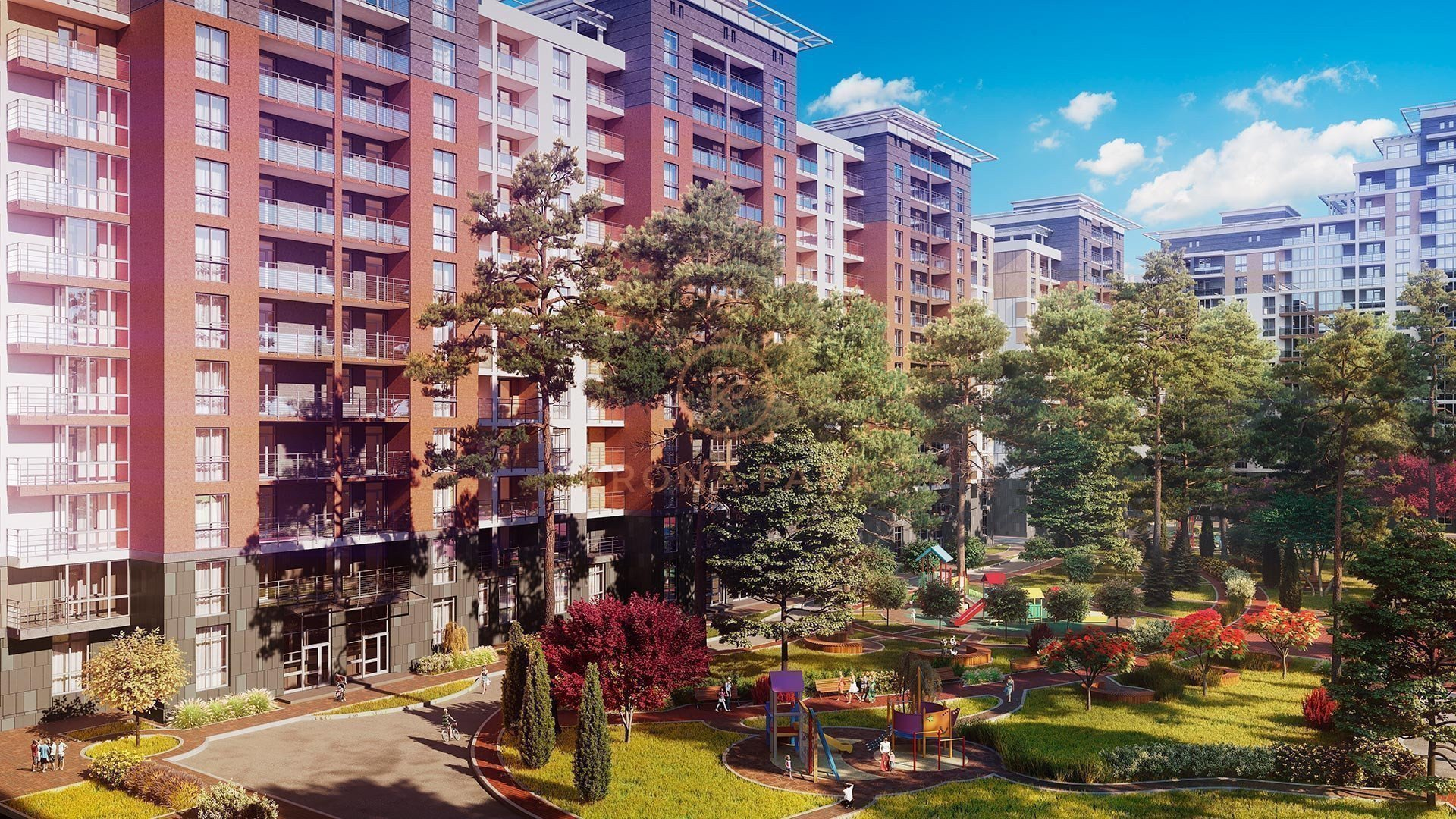 Buy an apartment in a new building Krona Park residential comlex