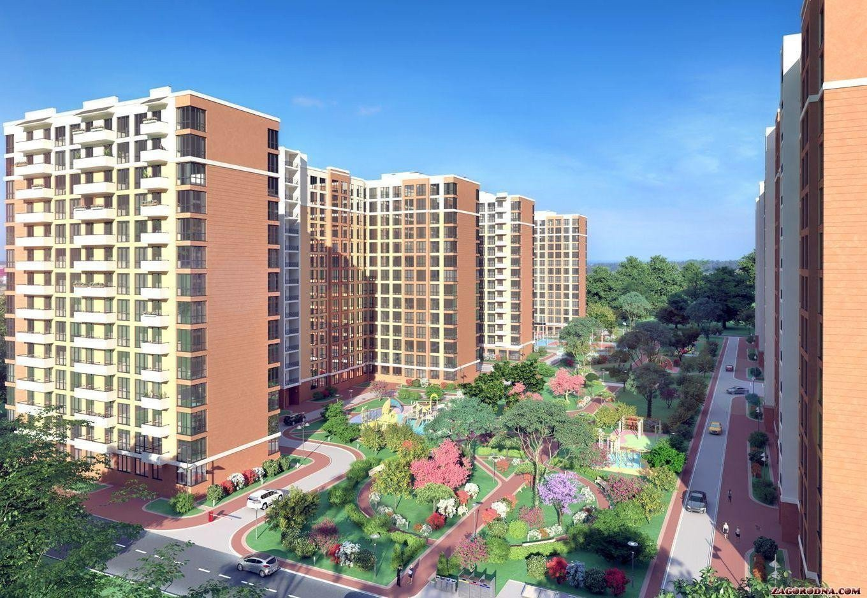 Buy an apartment in a new building Quarter Kryukovschina-2 residential comlex