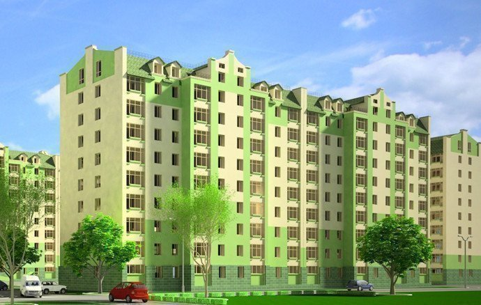 Buy an apartment in a new building Lily of the valley residential comlex