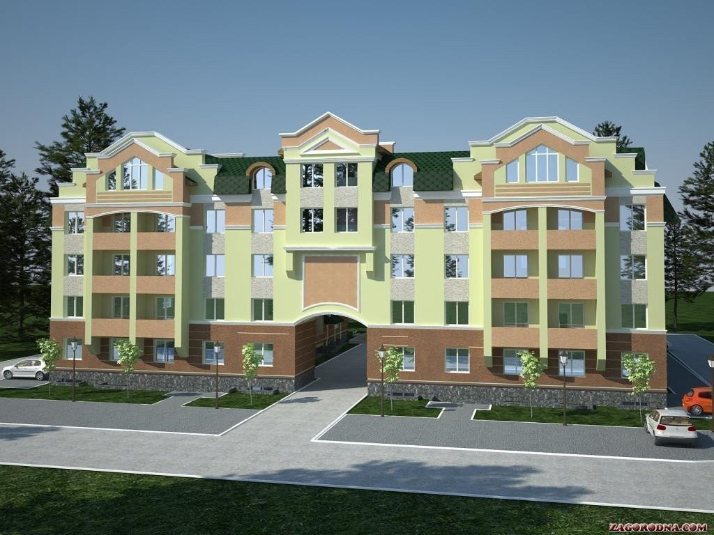 Buy an apartment in a new building Akademkvartal