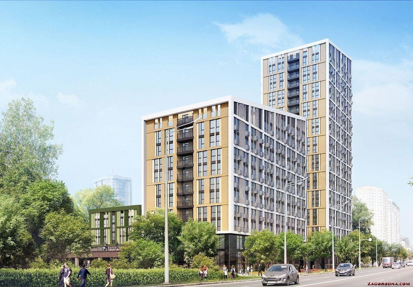 Buy an apartment in a new building Madison Gardens RC