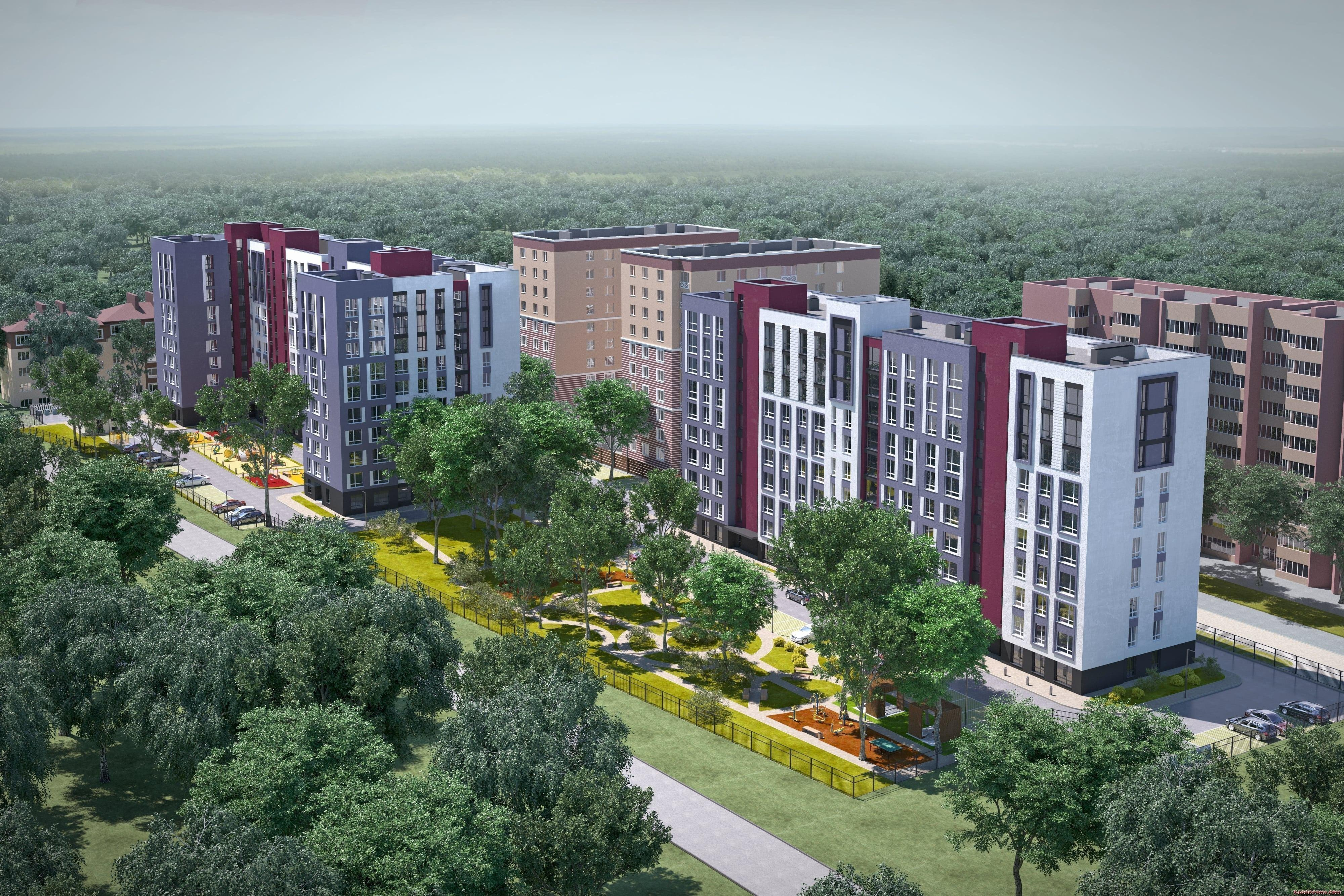 Buy an apartment in a new building New Meters Park RC