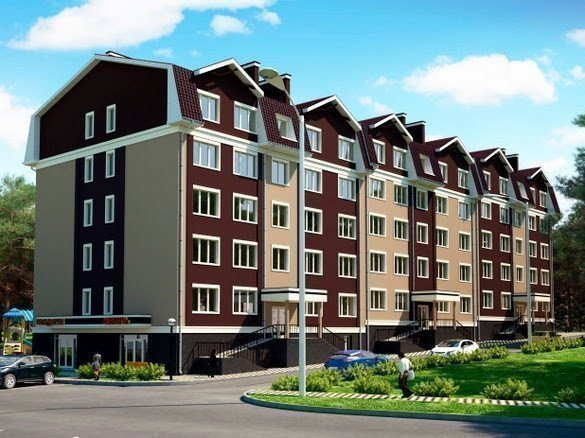 Buy an apartment in a new building NovoSell residential comlex
