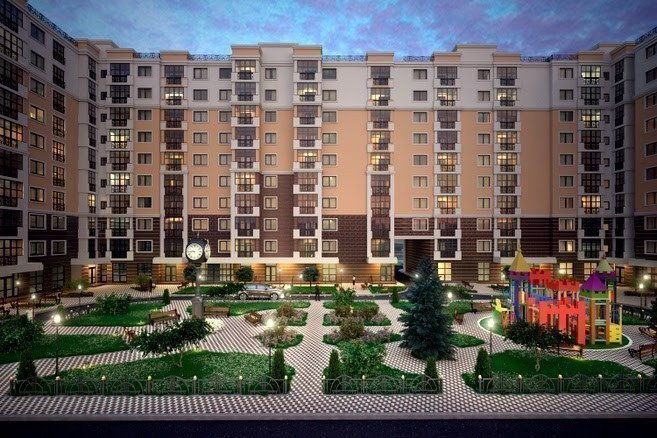 Buy an apartment in a new building New Teremki residential comlex