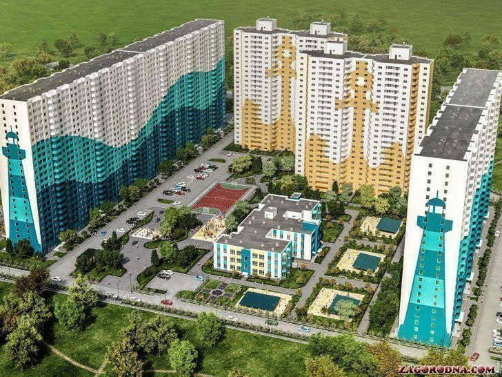 Buy an apartment in a new building Odessa Boulevard residential comlex