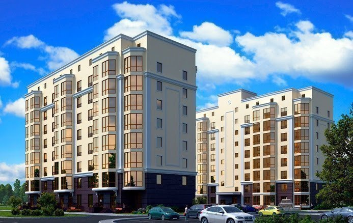 Buy an apartment in a new building Одесский квартал RC