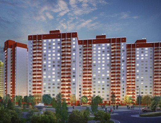 Buy an apartment in a new building Olympic residential comlex