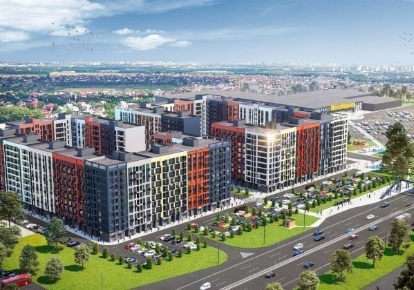 Buy an apartment in a new building Optymisto RC