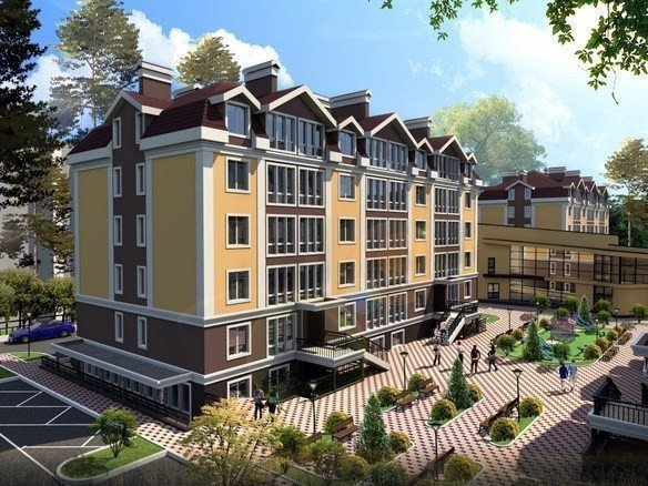 Buy an apartment in a new building Pushkin quarter residential comlex