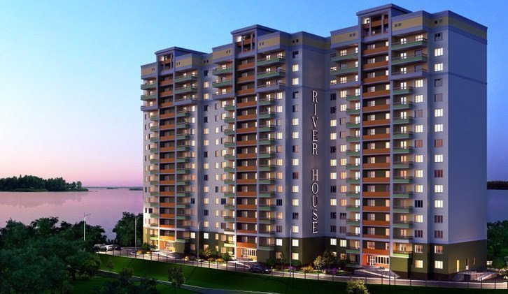 Buy an apartment in a new building River House residential comlex