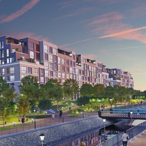 Photo: Riverside residential comlex