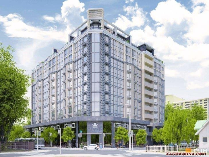 Buy an apartment in a new building Royal Park residential comlex