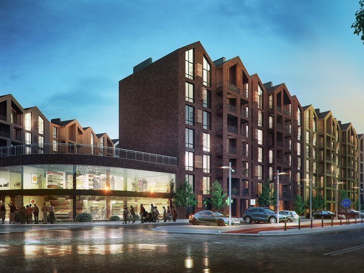 Buy an apartment in a new building Scandia residential comlex