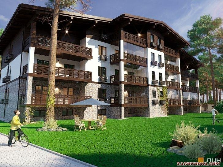 Buy an apartment in a new building Club houses «Chalet»
