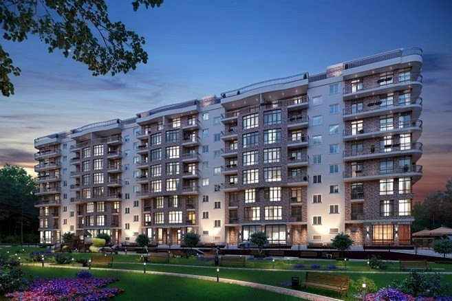 Buy an apartment in a new building Genevieve-2 residential comlex