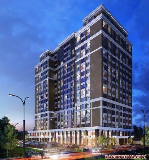 Buy an apartment in a new building Sky-2 residential comlex