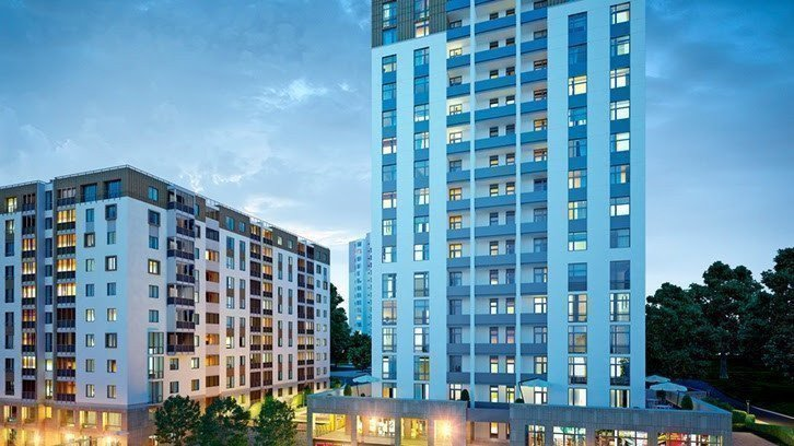 Buy an apartment in a new building Synergy-3 / Smart City residential comlex
