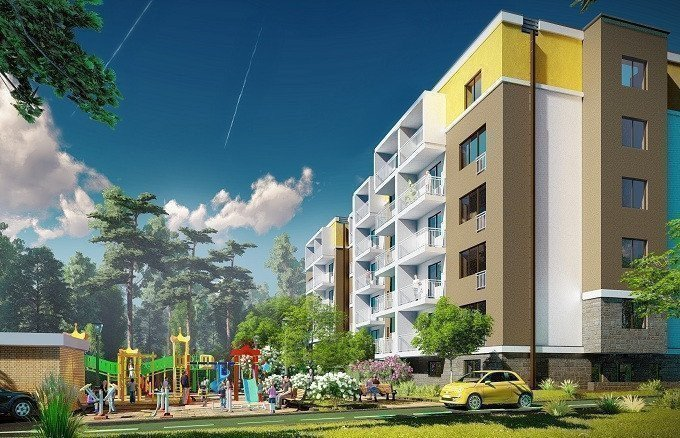 Buy an apartment in a new building Promenade Tarasovka residential comlex