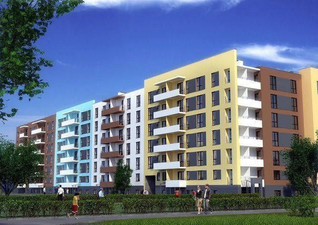 Buy an apartment in a new building Ukrainka
