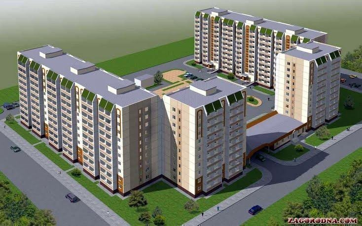 Buy an apartment in a new building New building on Zhovtneva in Vyshneve