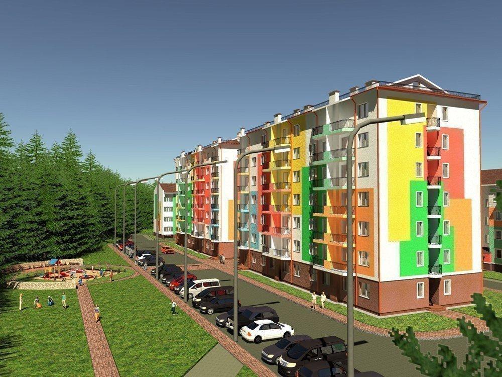 Купить квартиру в новостройке «Ягода» ЖК
