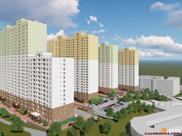 Buy an apartment in a new building Yaroslavichi-2 residential comlex