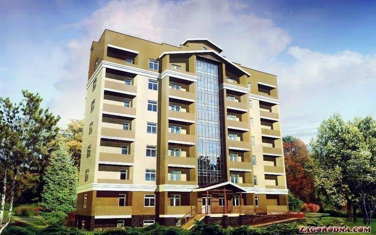 Buy an apartment in a new building Зеленый город