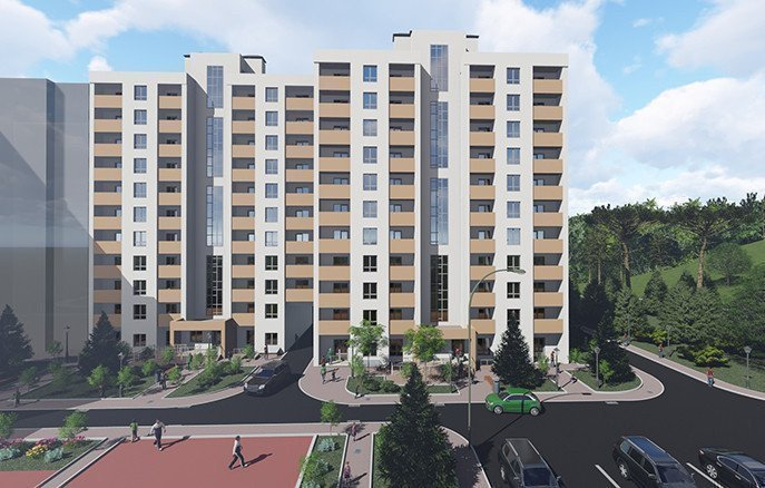 Buy an apartment in a new building Golden Key residential comlex
