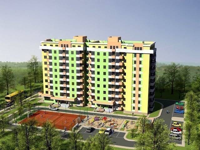 Buy an apartment in a new building Kievski Zori