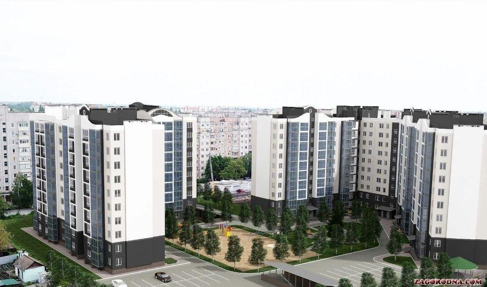 Buy an apartment in a new building «Central» residential comlex