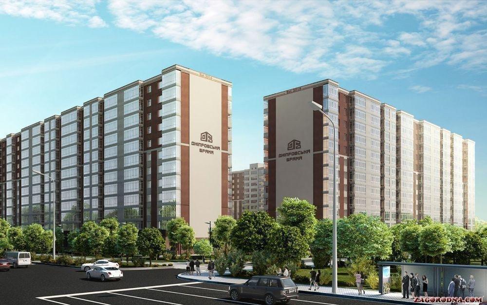 У передмісті Дніпра будують найбільше новобудов