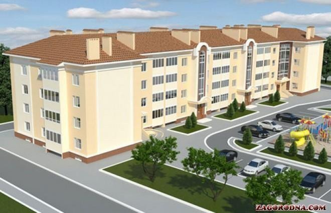 Buy an apartment in a new building Cozy residential comlex