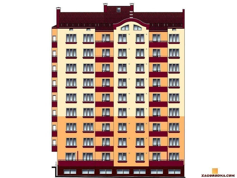 Buy an apartment in a new building New building in Burshtyn