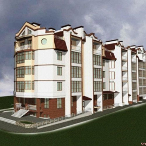 Photo: New building in Kosovo